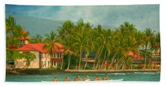 A Day In Paradise Beach Towel