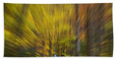 Beach Towel featuring the photograph A Fall Stroll Taughannock by Jerry Fornarotto