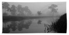 A Foggy Morning Beach Sheet