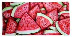 A Fresh Summer 2 Beach Sheet by Shana Rowe Jackson