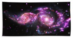 A Galactic Get-together Beach Towel