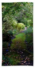A Garden Path Beach Sheet
