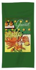A Gourmet Cover Of Dandelion Salad Beach Towel