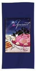 A Gourmet Cover Of Mousse Beach Towel