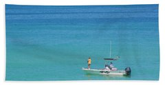 Beach Sheet featuring the photograph A Great Way To Spend A Day by Mariarosa Rockefeller
