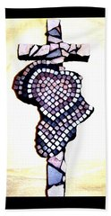 A Heart For Africa Cross Beach Towel