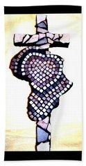A Heart For Africa Cross Beach Sheet