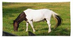 A Horse Named Dipstick Beach Towel