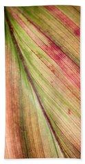 A Leaf Beach Towel