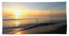 A New Day Begins Beach Towel