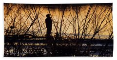 Beach Towel featuring the photograph A New Day by Robyn King
