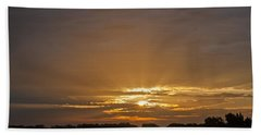 A New Day - Sunrise In Texas Beach Towel