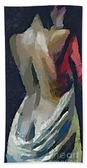 A Passionate Lady Beach Towel