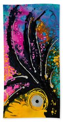 A Rare Bird - Tropical Parrot Art By Sharon Cummings Beach Towel