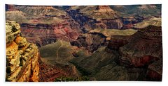 A River Runs Through It-the Grand Canyon Beach Towel