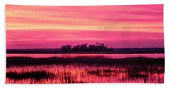 A Saint Helena Island Sunset Beach Towel