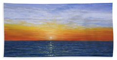 A Silent Moment Beach Towel