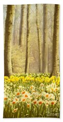 A Spring Day Beach Towel