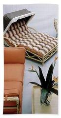A Studio Shot Of Furniture Beach Towel