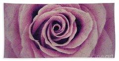 A Sugared Rose Beach Towel