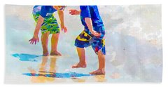 A Summer To Remember Iv Beach Sheet by Susan Molnar