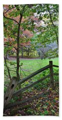 Beach Towel featuring the photograph A Time For Reflection by Bruce Bley