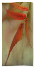 A Touch Of Autumn Beach Towel