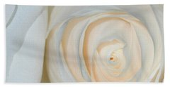 Beach Towel featuring the photograph A Touch Of Peach by Sami Martin