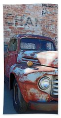 A Truck In Goodland Beach Towel by Lynn Sprowl