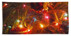 Beach Towel featuring the photograph A Vintage Christmas  by Laurie Lundquist