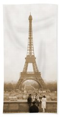 A Walk Through Paris 5 Beach Sheet