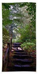 A Wooded Path Beach Sheet