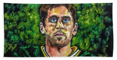 Aaron Rodgers Beach Towel