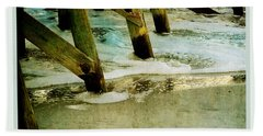 Ab Pilings Beach Towel