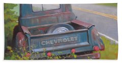 Abandoned Chevy Beach Towel