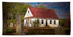 Abandoned Church And Graves Beach Towel