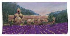 Abbaye Notre-dame De Senanque Beach Towel