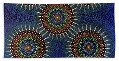 Aboriginal Inspirations 16 Beach Towel by Mariusz Czajkowski