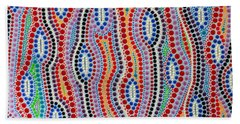 Aboriginal Inspirations 2 Beach Sheet