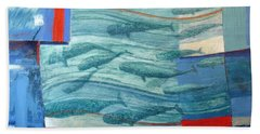 About 120 Western Grey Whales Wc On Paper Beach Towel