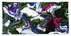 Beach Towel featuring the digital art Absent by Richard Thomas