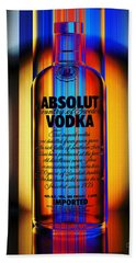 Absolut Abstract Beach Towel