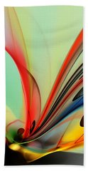 Abstract 040713 Beach Towel
