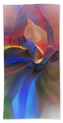 Beach Sheet featuring the digital art Abstract 121214 by David Lane