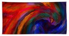 Abstract 29012013 - 042 Beach Towel by Stuart Turnbull
