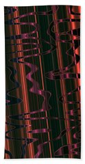 Abstract 327 Beach Towel