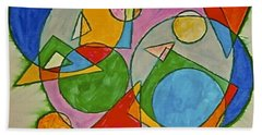 Abstract 89-001 Beach Towel