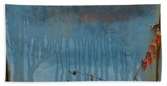 Beach Towel featuring the photograph Abstract  by Alana Ranney