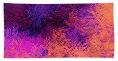 Abstract Autumn Beach Sheet