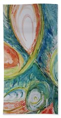 Abstract Chaos Beach Towel